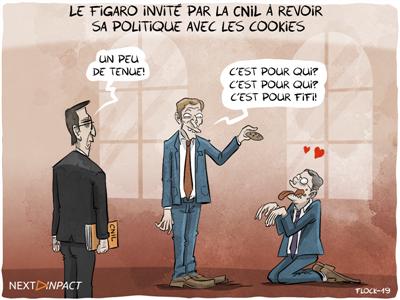 Le Figaro invité par la CNIL à revoir sa politique de cookies