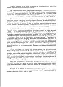 lettre cnil PACA biométrique lycées marseille nice