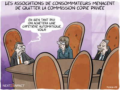 Les associations de consommateurs menacent de quitter la Commission Copie privée