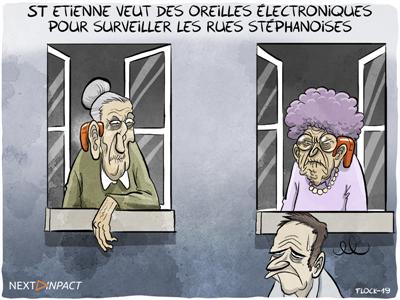 La CNIL dit non aux oreilles électroniques dans les rues de Saint-Étienne