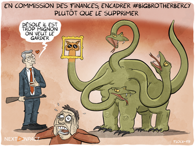 En commission des finances, encadrer #BigBrotherBercy plutôt que le supprimer