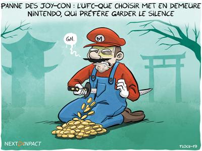 Panne des JoyCon : l'UFC-Que Choisir met en demeure Nintendo