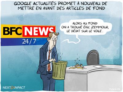 Google Actualités promet à nouveau de mettre en avant des articles de fond