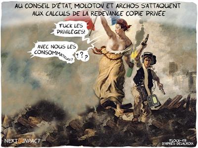 Au Conseil d'État, Molotov et Archos s'attaquent aux calculs de la redevance Copie privée
