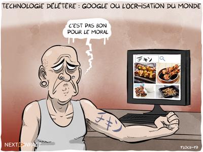 Google ou l'« OCR-isation » du monde