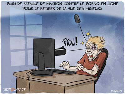 Protection des mineurs : le plan de bataille de Macron contre le porno en ligne