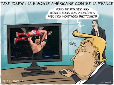 Taxe « GAFA » : la riposte fiscale américaine contre la France