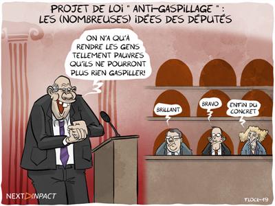 Projet de loi « anti-gaspillage » : les (nombreuses) idées des députés