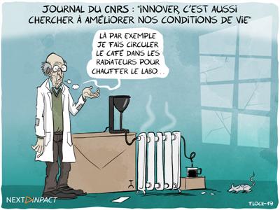 Journal du CNRS : « Innover, c'est aussi chercher à améliorer nos conditions de vie »