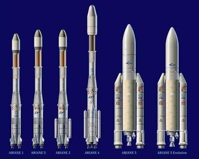 Ariane 1 a 5
