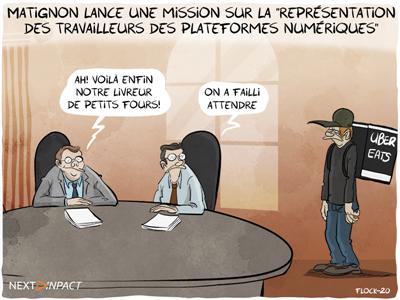 Matignon lance une mission sur la « représentation des travailleurs des plateformes numériques »