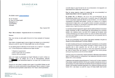 CNAM arretmaladie.fr