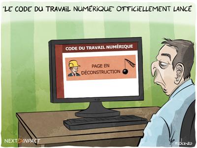Le « Code du travail numérique » officiellement lancé