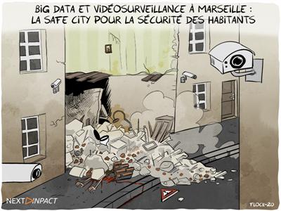 La Quadrature du Net et la LDH attaquent la « Safe City » marseillaise