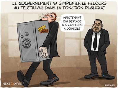 Le gouvernement va simplifier le recours au télétravail dans la fonction publique