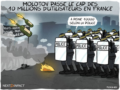 Molotov passe le cap des 10 millions d'utilisateurs en France