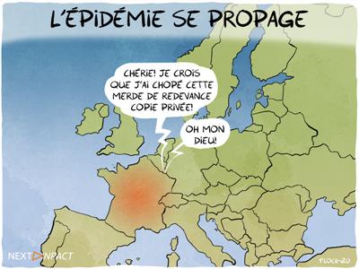Un site européen doit payer la redevance Copie privée sur ses ventes de supports en France