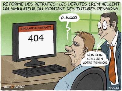 Réforme des retraites : les députés LREM veulent un simulateur du montant des futures pensions