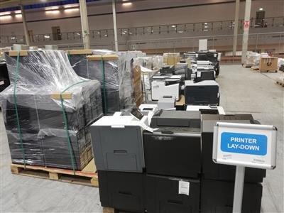 Des imprimantes aussi