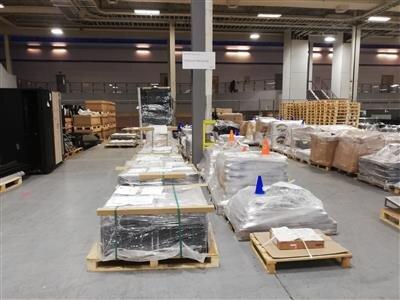 Là, se trouve les produits à envoyer à TBO pour recyclage