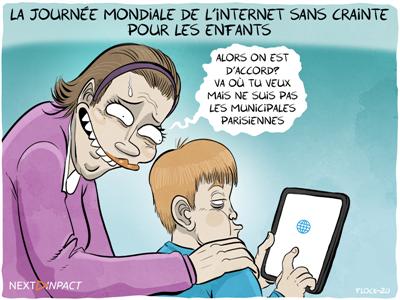 C'est la journée mondiale de l'Internet sans crainte pour les enfants