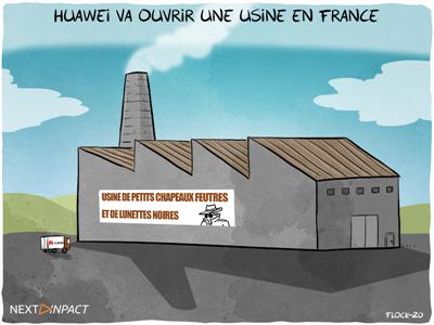 Huawei va construire une usine en France, sa première hors d'Asie