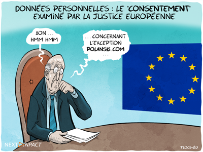 Données personnelles : le « consentement » examiné par la justice européenne