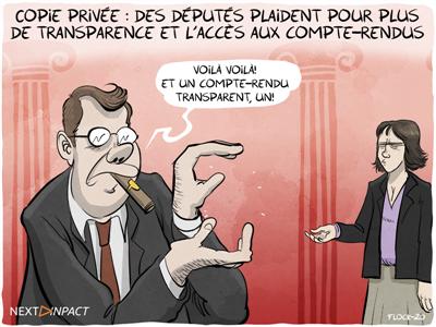 Copie privée : des députés plaident pour plus d'objectivité et de transparence