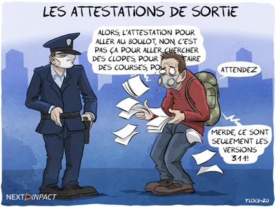 Confinement en France : téléchargez la nouvelle attestation de déplacement