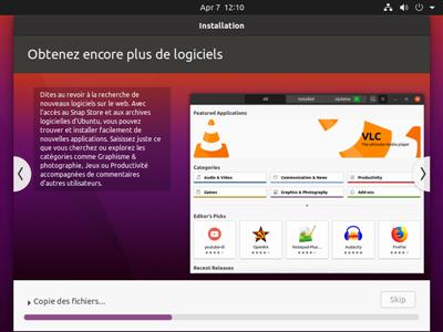 Ubuntu 20.04 installation