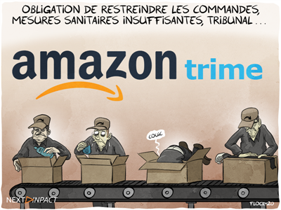 Restriction, menace de suspension : l'affaire Amazon dans le détail