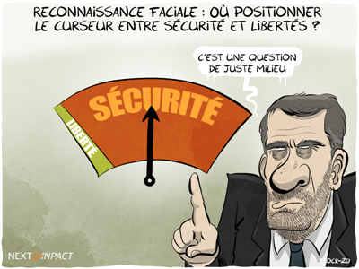 Reconnaissance faciale : « la nécessaire conciliation entre sécurité et libertés »