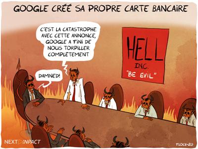 Google préparerait sa propre carte bancaire physique