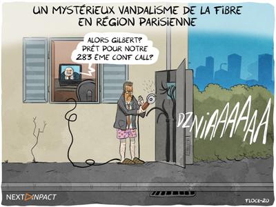 « De grosses fibres vandalisées » en région parisienne : des FAI, hébergeurs et services touchés