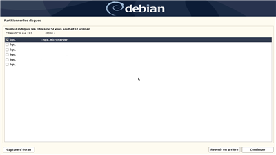 iSCSI Debian 10.04 Setup