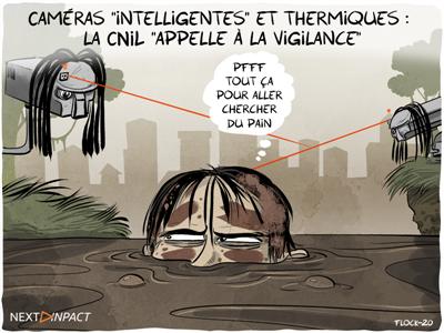 Caméras « intelligentes » et thermiques : la CNIL « appelle à la vigilance »
