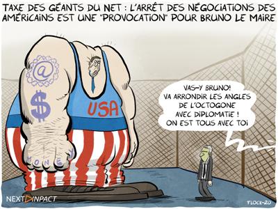 Taxe des géants du Net : l'arrêt des négociations des Américains est une « provocation » pour Bruno Le Maire