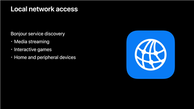 Apple iOS iPadOS 14 Local Network Privacy