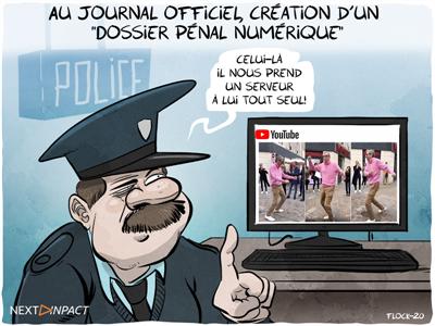 Au Journal officiel, la création d'un « Dossier pénal numérique »