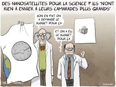 Des nanosatellites pour la science ? Ils « n'ont rien à envier à leurs camarades plus grands  »