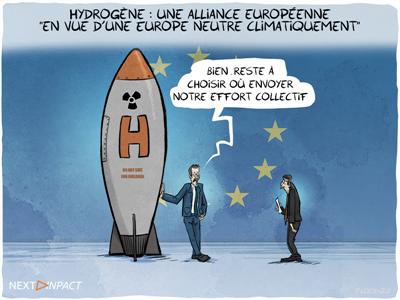 Hydrogène : une alliance européenne « en vue d'une Europe neutre climatiquement »