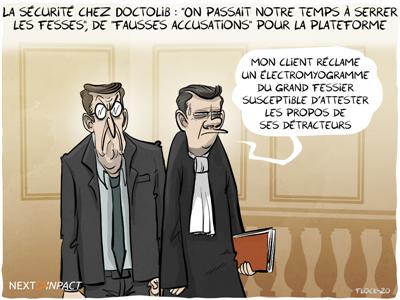 La sécurité chez Doctolib : « On passait notre temps à serrer les fesses », de « fausses accusations » pour la plateforme