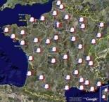 google map earth élection
