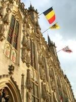 Belgique drapeaux monuments