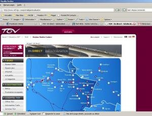 TGV Est Internet débit
