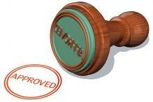 approved approuvé label étiquette confiance