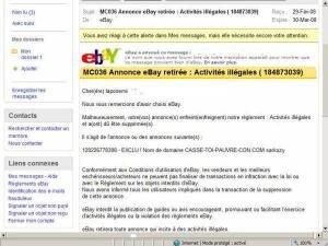 ebay sarkozy casse toi pauvre con