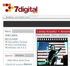 7digital warner music france MP3