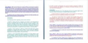 loi olivennes avant projet couleurs