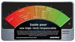 greenpeace high-tech ecologie
